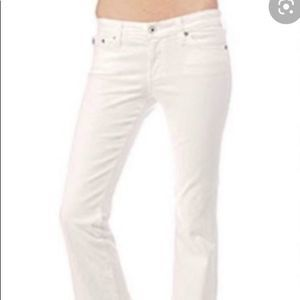 AG Adriano Goldschmied The Club White Jeans 26R